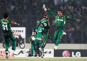 ICC World Cup 2011 highlights: Bangladesh vs. Ireland
