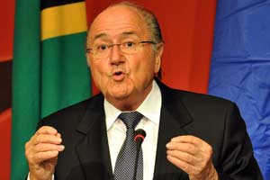 FIFA chief Blatter 'hurt' by racism storm