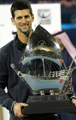 Djokovic beats Federer in Dubai final