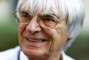 Ecclestone absent from F1 season opener