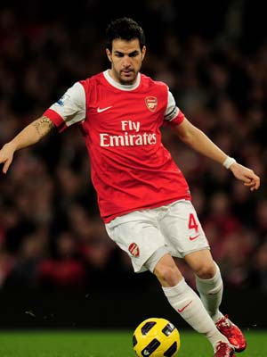 Fabregas to miss Arsenal's Asia tour: Wenger