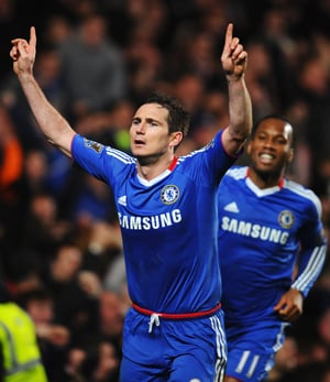 EPL: Frank Lampard helps Chelsea cement top four spot