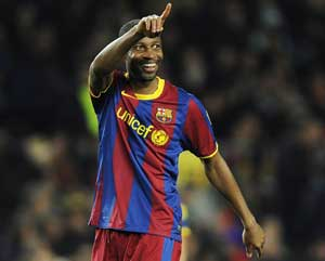 Barcelona reveals Seydou Keita may move out