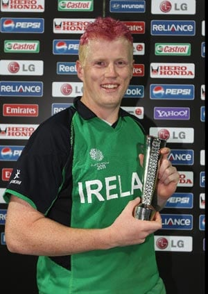 Irish hero O