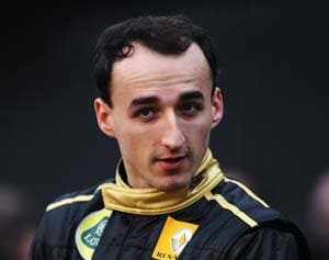 Robert Kubica named FIA's Personality of the Year
