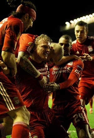 Liverpool eye Champions League charge