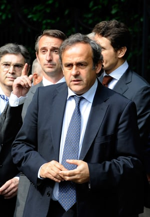 UEFA Euro 2012: Life bans for match-fixing players, warns Platini