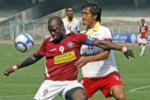 Mohun Bagan and Churchill Bothers settle for draw