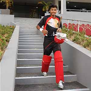 16-year old Nitish, youngest to make his World Cup debut
