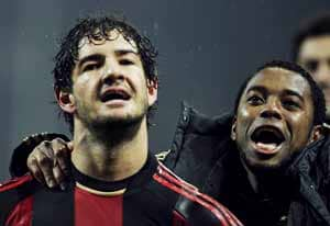 Pato inspires Milan to crucial win over Napoli