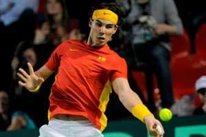 Nadals win makes Spain lead 2-0 against Belgium