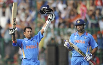 Sachin Tendulkar completes a year without century