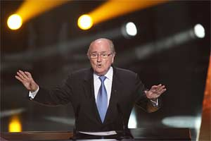 German league president calls on Blatter to resign