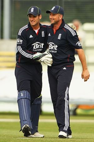 England wicketkeeper says he's gay