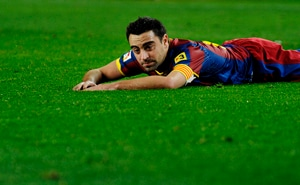 Lady luck isn't smiling on Barca, laments Xavi
