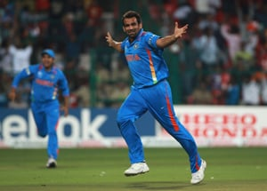 Zaheer Khan recommeded for Arjuna award