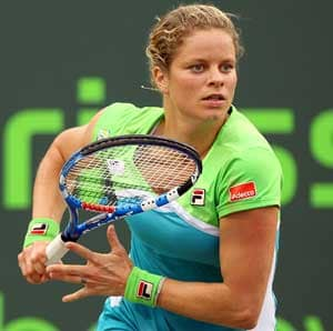 Injured Clijsters out for four to six weeks