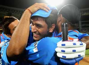 Cup of Joy for Dhoni in an otherwise mixed year