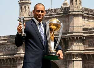 MS Dhoni confident of retaining World Cup trophy