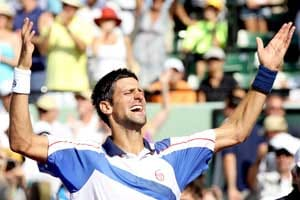 Invincible Djokovic vanquishes Nadal