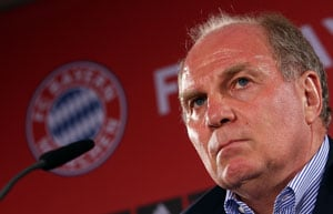 Uli Hoeness resigns from Bayern Munich top posts following arrest