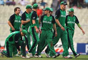 Giant-killers Ireland look for repeat performance