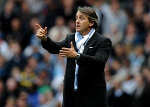 City deserve top four spot says Mancini