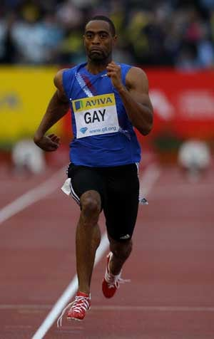 Tyson Gay plans to test out hip at Adidas Grand Prix