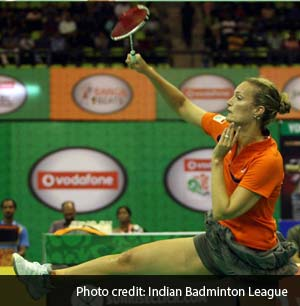 Are shuttles used in Indian Badminton League too fast for players?