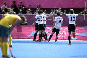 London 2012 Hockey: Germany stuns Australia 4-2 to reach final
