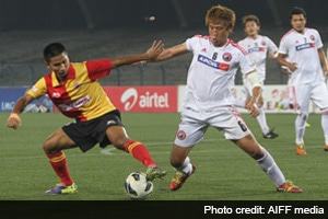 East Bengal play out goal-less draw against Shillong Lajong FC