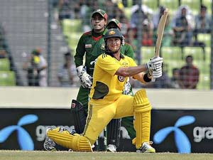 Watson sets a world record with 15 sixes against Bangladesh