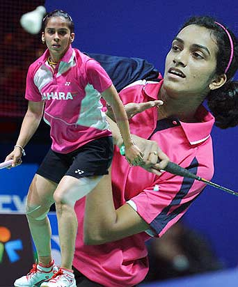 Uber Cup: Saina Nehwal to Partner PV Sindhu in Doubles