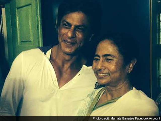 After Kolkata Knight Riders' Win, Shah Rukh Khan Celebrates With West Bengal CM Mamata Banerjee