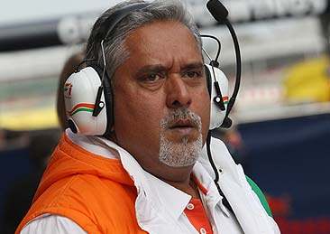 Force India Happy to Retain Drivers, Says Vijay Mallya