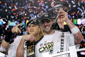 Rodgers' Packers jump out to early Super Bowl lead