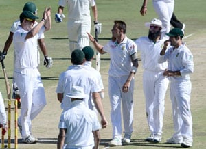 Kyle Abbott's seven wickets on debut send Pakistan crashing