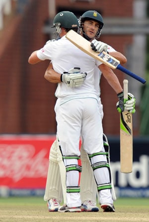 South Africa record their highest fourth innings total in Tests