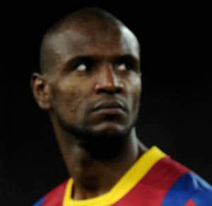 Eric Abidal plays first match since liver transplant