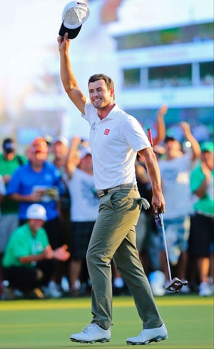 Adam Scott romps to four-shot win in Australian PGA Championship