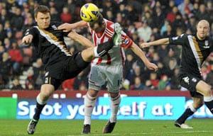 Adam the hero again as Stoke sink Fulham