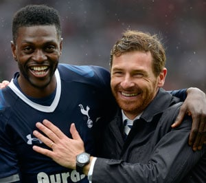 Emmanuel Adebayor fires Tottenham into top four