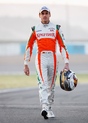 Force India's Adrian Sutil qualifies 8th for Monaco Grand Prix