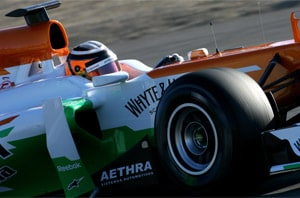 Auto parts major Aethra joins Sahara Force India for 2012 season