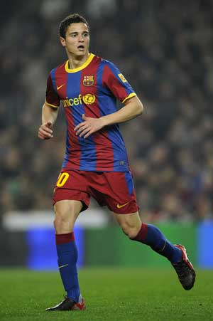 Barcelona's Afellay faces knee operation