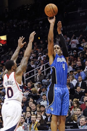 NBA: Arron Afflalo, Orlando Magic end road skid, win 109-92 over Atlanta Hawks