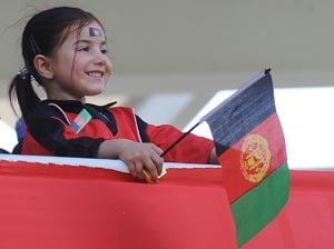 Bats and balls beat bombs for Afghan fans