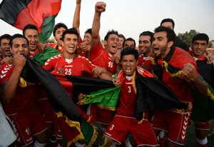 Cash and flats for SAFF champions Afghanistan