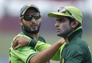 Shahid Afridi will be key in World Twenty20 India-Pakistan clash, says Mohammad Hafeez