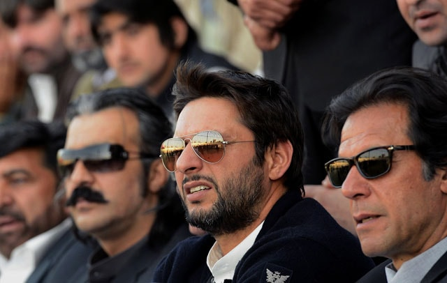 Shahid Afridi bats for Imran Khan's talent hunt project